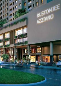 Project Image of 647.0 - 720.0 Sq.ft 2 BHK Apartment for buy in Rustomjee Azziano Wing G