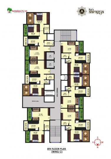 Project Image of 619.0 - 1220.0 Sq.ft 1 BHK Apartment for buy in Rai Aaragya