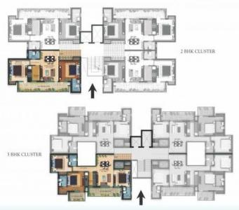 Project Image of 1075 - 1390 Sq.ft 2 BHK Apartment for buy in TDI Espania Royale Heights