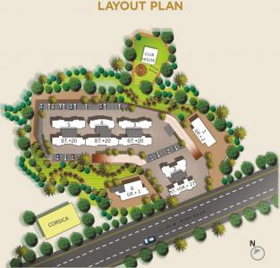 Project Image of 463 - 765 Sq.ft 1 BHK Apartment for buy in Rosa Oasis Phase 2