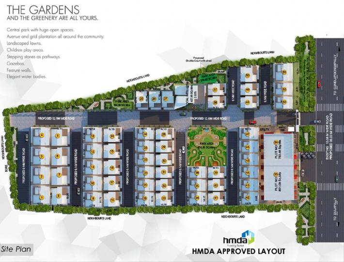 Project Image of 1925.0 - 3148.0 Sq.ft 3 BHK Villa for buy in Myron Integrity Homes