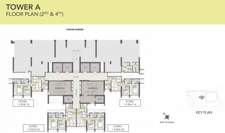 Project Image of 474.47 - 1955.16 Sq.ft 1.5 BHK Apartment for buy in Kalpataru Elitus