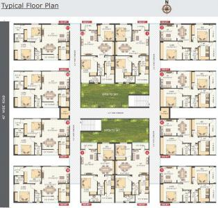 Project Image of 0 - 1000 Sq.ft 2 BHK Apartment for buy in Sri Residency