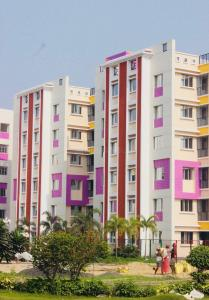 Gallery Cover Image of 861 Sq.ft 2 BHK Apartment for rent in S D Aqua View, Dum Dum Cantonment for 12000