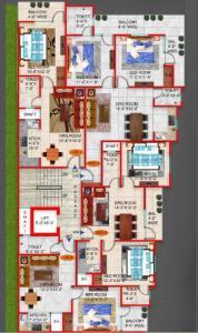 सैप होम्स में खरीदने के लिए 600.0 - 1450.0 Sq.ft 1 BHK अपार्टमेंट प्रोजेक्ट  की तस्वीर