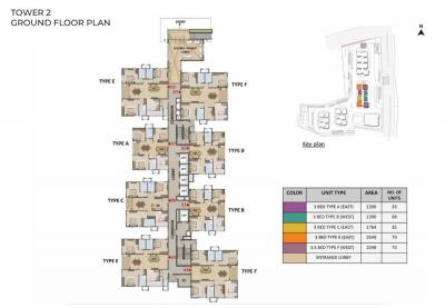 Project Image of 1390.48 - 2049.77 Sq.ft 3 BHK Apartment for buy in Prestige Tranquil