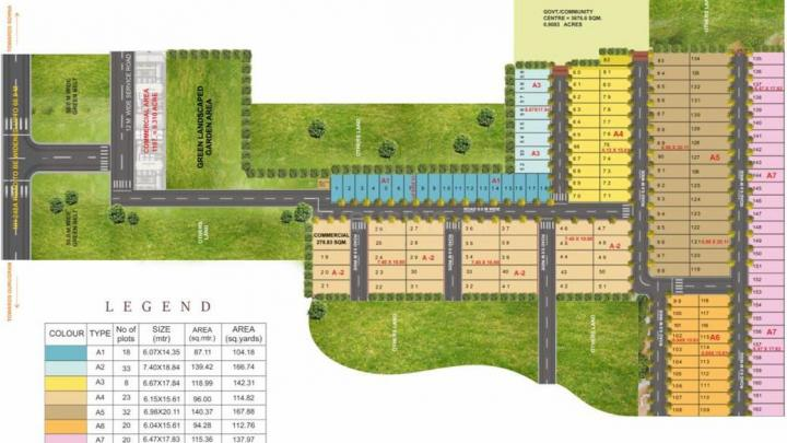 Project Image of 1014.84 - 1510.92 Sq.ft Residential Plot Plot for buy in Spring Valley