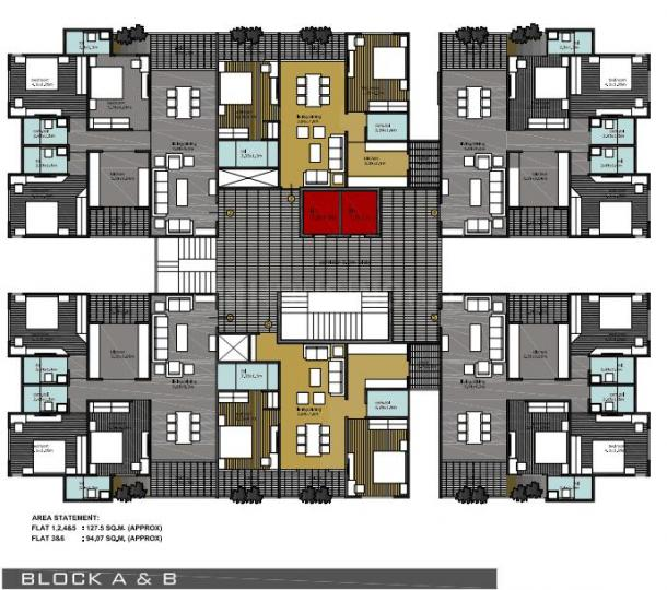 Project Image of 1012 - 3100 Sq.ft 2 BHK Apartment for buy in BCM Park Phase I
