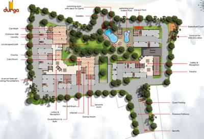 Project Image of 1220.0 - 1530.0 Sq.ft 3 BHK Apartment for buy in Durga Marine Drive