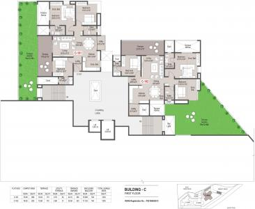 Project Image of 711.0 - 1007.0 Sq.ft 3 BHK Apartment for buy in Mantra Grandstand Trinity
