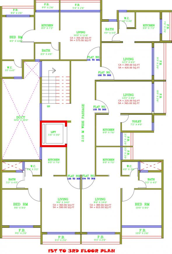 Project Image of 260.0 - 380.0 Sq.ft 1 RK Apartment for buy in Satyam Plaza