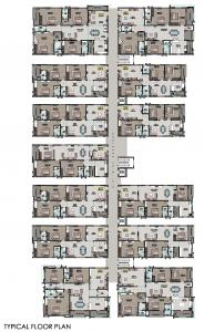 Project Image of 1839.0 - 3160.0 Sq.ft 3 BHK Apartment for buy in Riddhi Elite