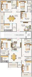 Project Image of 1475.95 - 1502.96 Sq.ft 3 BHK Apartment for buy in SS Navya Lotus
