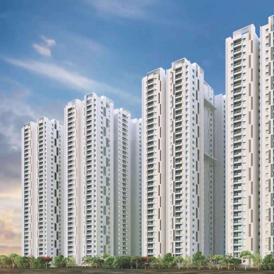 Project Image of 1957 - 2235 Sq.ft 3 BHK Apartment for buy in My Home Tarkshya