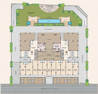 Project Image of 880.16 - 930.54 Sq.ft 3 BHK Apartment for buy in Sadhna Skywalk Suyash