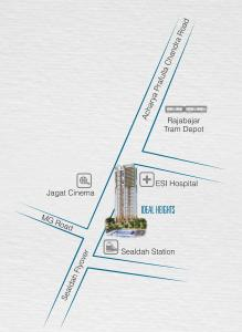 Gallery Cover Image of 1470 Sq.ft 2 BHK Apartment for rent in Ideal Ideal Heights, Raja Bazar for 28000