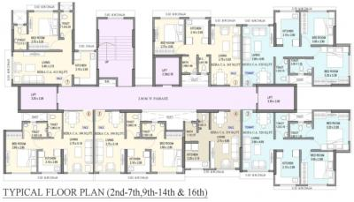 Project Image of 255.0 - 588.0 Sq.ft 1 RK Apartment for buy in Shraddha Polaris