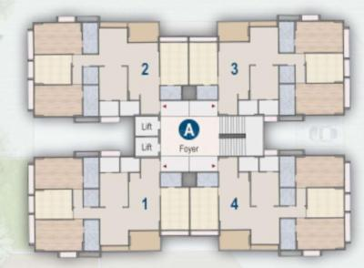 Project Image of 1074.45 - 1533.86 Sq.ft 3 BHK Apartment for buy in Deep Indraprasth Saptak
