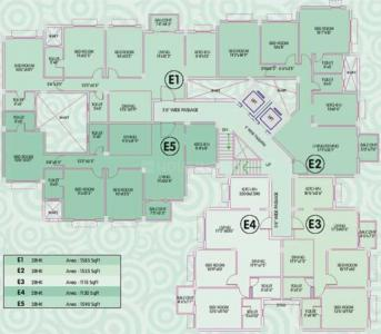 Project Image of 1095.0 - 2015.0 Sq.ft 2 BHK Apartment for buy in Ideal Enclave Phase 1