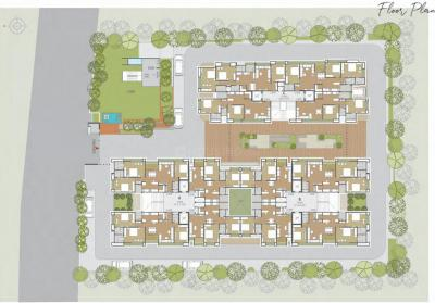 Project Image of 721.5 - 1017.62 Sq.ft 2 BHK Apartment for buy in Vishwa Lake Iksa