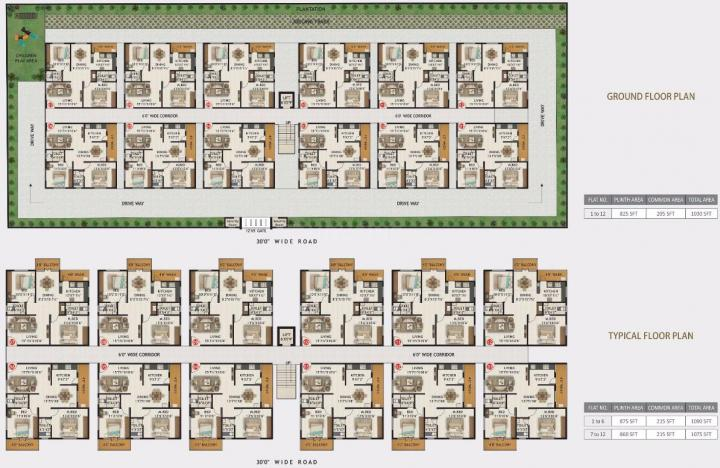 Project Image of 1030.0 - 1090.0 Sq.ft 2 BHK Apartment for buy in Vega East Woods