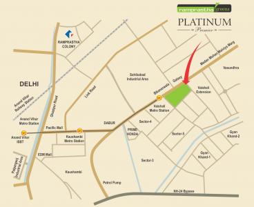 200 Sq.ft Residential Plot for Sale in Vaishali, Ghaziabad
