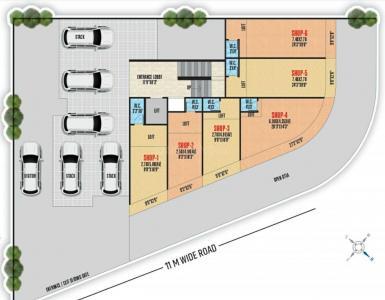 श्री अंबिका आंगन में खरीदने के लिए 179.76 - 323.89 Sq.ft 1 RK अपार्टमेंट प्रोजेक्ट  की तस्वीर