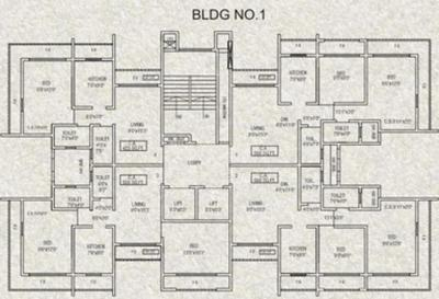 Project Image of 690.0 - 970.0 Sq.ft 1 BHK Apartment for buy in Agarwal Hamlet Tower