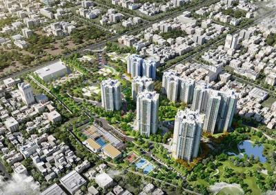 Project Image of 1740 Sq.ft 3 BHK Apartment for buyin Jagajeevanram Nagar for 16500000