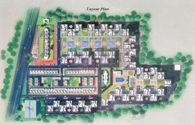 Gallery Cover Image of 600 Sq.ft 1 BHK Apartment for buy in Ramesh Hermes Heritage Phase 2, Yerawada for 5000000