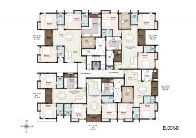 Project Image of 563.0 - 1811.0 Sq.ft 1 BHK Apartment for buy in Elegant Palmera Garden