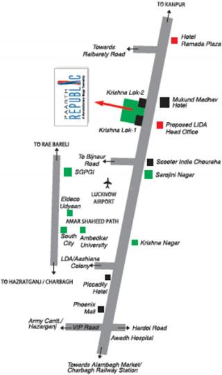 Project Image of 305.0 - 363.0 Sq.ft 1 BHK Apartment for buy in Paarth Republic EWS LIG