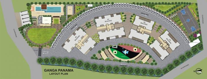 Project Image of 1180.0 - 1520.0 Sq.ft 2 BHK Apartment for buy in Goel Ganga Panama