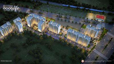 Project Image of 227.0 - 473.0 Sq.ft 1 BHK Apartment for buy in Vascon Goodlife Phase C