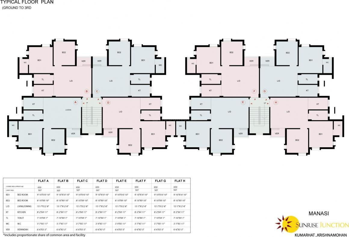 Project Image of 450.0 - 650.0 Sq.ft 1 BHK Apartment for buy in Sureka Sunrise Junction