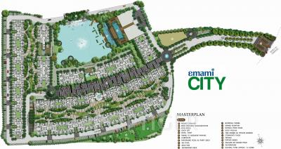 Gallery Cover Image of 1857 Sq.ft 4 BHK Apartment for buy in Emami City, South Dum Dum for 14000000