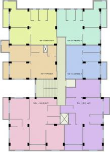 Project Image of 562.5 - 1262.5 Sq.ft 1 BHK Apartment for buy in B S Housing Pragati Dham