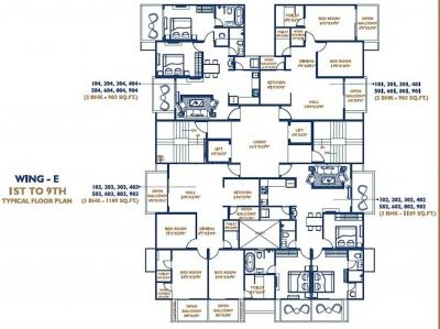 Project Image of 458.33 - 990.5 Sq.ft 2 BHK Apartment for buy in Oxy Beaumonde Phase 1