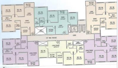 Gallery Cover Image of 1395 Sq.ft 3 BHK Apartment for rent in Aster Gardens, Reekjoyoni for 12000