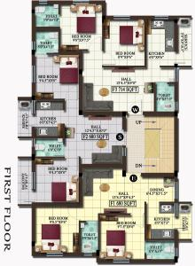 Project Image of 451.0 - 714.0 Sq.ft 1 BHK Apartment for buy in MP Karvi