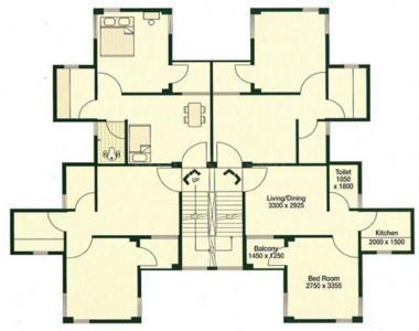 Gallery Cover Image of 420 Sq.ft 1 BHK Apartment for rent in Bengal Peerless Avishikta I II, Haltu for 15000