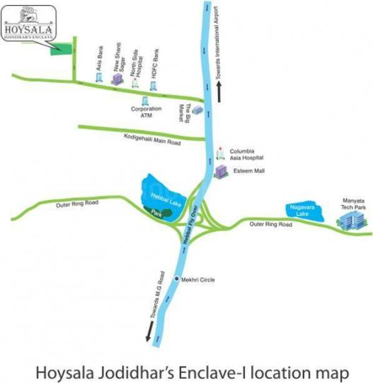Project Image of 1050.0 - 1680.0 Sq.ft 2 BHK Apartment for buy in Hoysala Projects Jodidhars Enclave