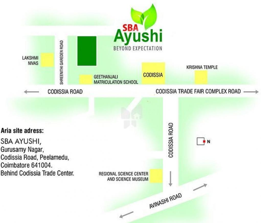 Project Image of 1010.0 - 1425.0 Sq.ft 2 BHK Apartment for buy in SBA Ayushi