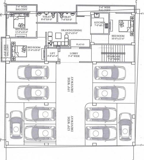Project Image of 889 - 990 Sq.ft 3 BHK Apartment for buy in SM Devi Dayal Enclave