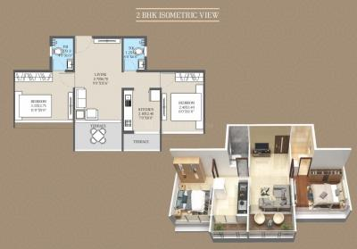 Gallery Cover Image of 395 Sq.ft 1 RK Apartment for buy in Ashiana Panvel Pride, Kewale for 1920000