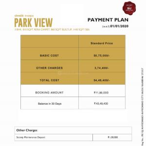 Project Image of 0 - 810.0 Sq.ft 3 BHK Apartment for buy in Shivalik Sharda Park View