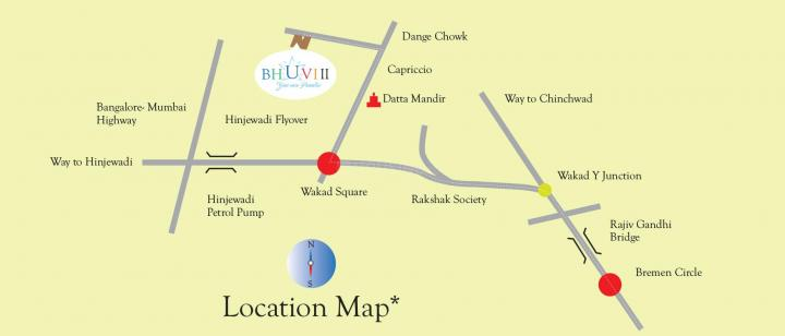 Project Image of 403.0 - 534.0 Sq.ft 2 BHK Apartment for buy in Vitthal Bhuvi 2