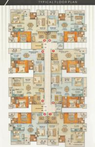 Project Image of 644 - 891 Sq.ft 2 BHK Apartment for buy in Srisatya Lalji Tower