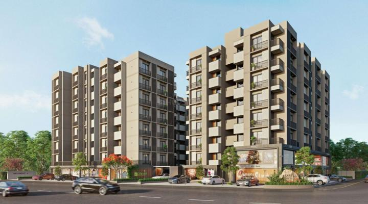 Project Image of 990.0 - 1404.0 Sq.ft 2 BHK Apartment for buy in Shreeji Residency