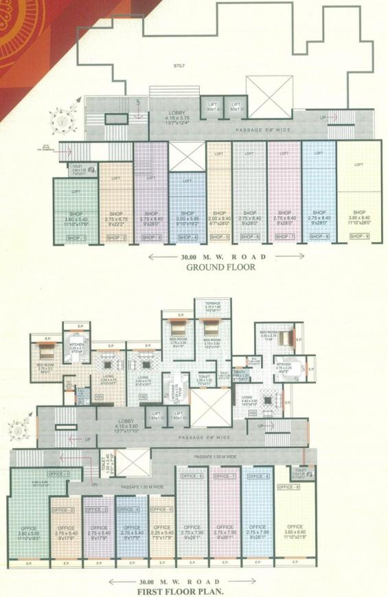 Project Image of 328.73 - 666.72 Sq.ft 1 BHK Apartment for buy in Trimurti Park
